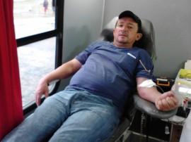 14.08.13 campanha finalizada doacao sangue trauma cg 1 270x202 - Hospital de Trauma de Campina Grande e Hemocentro finalizam campanha de doação de sangue