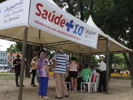Stand Parque Solon de Lucena saúde+10 FOTO Ricardo Puppe 270x202 - PB entrega mais de 38 mil assinaturas do Movimento Saúde +10 em Brasília
