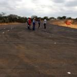 inicio de obra de asfalto em nova estrada de olivedos foto claudio goes  (3)