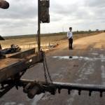 inicio de obra de asfalto em nova estrada de olivedos foto claudio goes  (6)