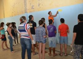 oficina alberi pontes3 270x193 - Grafite e fotografia movimentam oficinas no Festival de Artes de Areia
