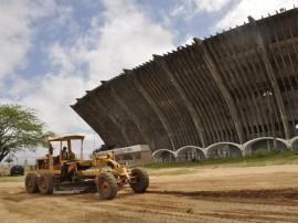 12.09.13 incio obras externas estadio amigao cg 2 270x202 - Começam obras de urbanização na parte externa do estádio Amigão