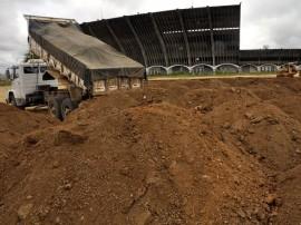12.09.13 incio obras externas estadio amigao cg 4 270x202 - Começam obras de urbanização na parte externa do estádio Amigão