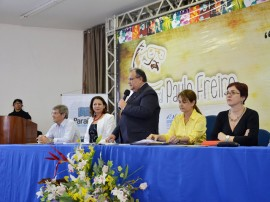 DIEGO NÓBREGA Lançamento do Ano Cultural Paulo Freire de EJA 19 09 2013 3 270x202 - Governo do Estado lança Ano Cultural Paulo Freire