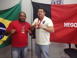 Golias e Wallber 270x202 - Golias ganha mais um ouro no 1º Open Mamanguape de Jiu Jitsu