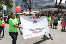 Hemocentro 1 270x180 - Hemocentro e Edson Ramalho participam do desfile da Independência