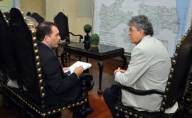 ricardo recebe bertrand asfora foto francisco frança 14 270x166 - Ricardo e Bertrand querem aprofundar parcerias entre Governo e MP