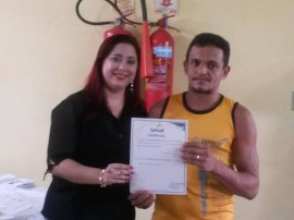 09.10.13 entrega certificados 2 270x202 - Governo entrega certificados de cursos profissionalizantes nas unidades prisionais de Sapé e Santa Rita