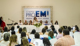 DIEGO NÓBREGA 2° ProEMI Cajazeiras61 270x156 - Governo do Estado abre Encontro do Programa Ensino Médio Inovador