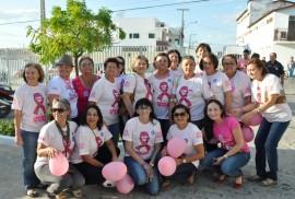 Integrantes do grupo Amigas Viva a Vida 270x182 - Maternidade de Patos realiza ações em apoio à campanha Outubro Rosa