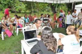 Mega Aç o 1 270x179 - Moradores de Gramame e Valentina recebem atendimento da Defensoria Pública