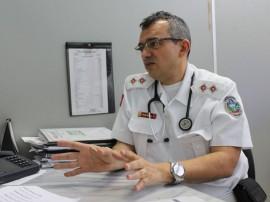 PERSONAGEM tenente João Bosco FOTO Ricardo Puppe 270x202 - Conhecer o perfil do hospital facilita a busca pelo médico na hora da necessidade