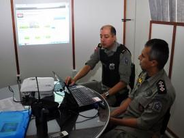 oficiais pm monitorando4 270x202 - Polícia garante segurança e tranquilidade nas provas do Enem