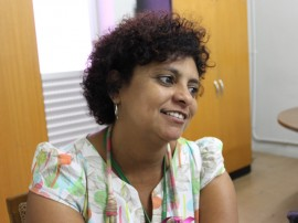 ses Durvalina Lima Coordenadora Estadual Saude da Mulher FOTO Ricardo Puppe 270x202 - Secretarias fazem instalação 'Varal de Sutiãs' em apoio à Campanha Outubro Rosa