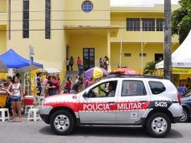 viatura pm lyceu7 270x202 - Polícia registra quatro ocorrências e três prisões na Operação Enem
