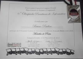 28.11.13 pm olimpiada informtica 4 270x192 - Soldado da Polícia Militar conquista medalha de prata na Olimpíada Paraibana de Informática