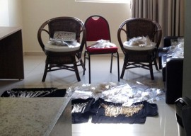 Apreensão de joias e semijoias em hotel da orla 2 OK 270x192 -  Receita Estadual apreende semi-joias sem nota fiscal em hotel da orla de João Pessoa