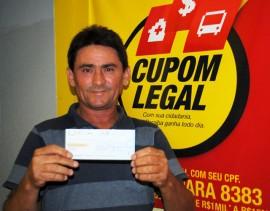 Ganhador de R 1.000 Carlos Alberto Fernando Vaz1 270x211 - Cupom Legal divulga ganhador do prêmio temático de R$ 15 mil