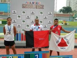 Severino Ouro 270x202 - Paraíba quebra recorde e conquista 26 medalhas nas Paralimpíadas Escolares