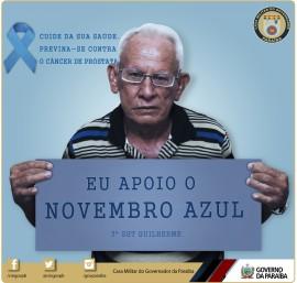 """novembro azul casa militar 4 270x257 - Casa Militar participa da campanha """"Novembro Azul"""" e reforça combate ao câncer"""