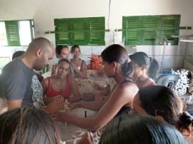 preparativos para salao de artesanato corais de acaú 2 270x202 - Fibras vegetais e arte indígena serão temas do 19º Salão de Artesanato