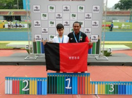 renan ouro 270x202 - Paraíba quebra recorde e conquista 26 medalhas nas Paralimpíadas Escolares