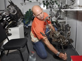 27.12.13 xix salao pb foto walter rafael 10 1 270x202 - Arte contemporânea e metal são destaques no 19º Salão de Artesanato