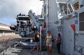 DSC 70392 270x179 - Navio de patrulha é aberto à visitação no Porto de Cabedelo
