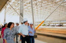 VISITA OBRAS ESPACO CULTURAL 5 270x179 - Ricardo inspeciona obras nas áreas da educação, cultura e esporte