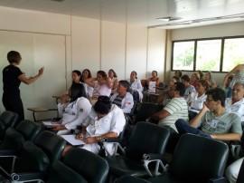 foto da palestra Medula Óssea1 270x202 - Hemocentro realiza palestra sobre processo de doação de medula óssea