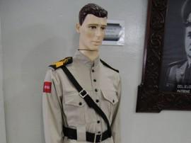 23.01.14 museu pmpb fotos werneck moreno 4 270x202 - Fardamento do patrono da Polícia Militar compõe acervo do museu da corporação