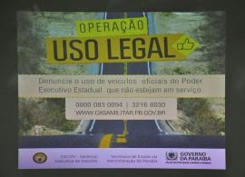 24.01.14 operação uso legal fotos roberto guedes 1 270x195 - Governo lança campanha de conscientização de veículos oficiais
