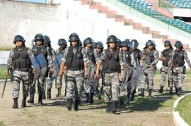 Segurança jogo boafogo x sport 1 270x179 - Mais de 200 policiais farão a segurança do jogo entre Botafogo e Sport