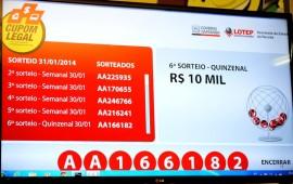 Sorteio cupom 31 de janeiro 2014 1 270x170 - Cupom Legal divulga ganhador do 2º prêmio quinzenal de R$ 10 mil