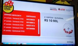 Foto sorteio do cupom legal 28 de fevereiro tela  270x158 - Cupom Legal divulga ganhador do 2º prêmio de R$ 10 mil de fevereiro