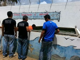 foto peixe21 270x202 - Governo realiza curso de piscicultura para reclusos da Penitenciária de Segurança Máxima de Mangabeira