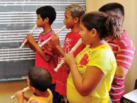 projeto nota musical1 270x202 - Aulas de música tiram crianças das ruas em João Pessoa