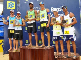 vôlei campeaos masculino foto walter rafael 270x202 - Secretário de Esporte entrega troféus na final do vôlei de praia