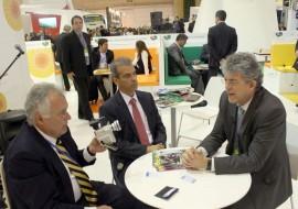 13.03.14 ricardo em portugal 2 270x190 - Ricardo se reúne com vice-presidente da TAP na Bolsa de Turismo em Lisboa