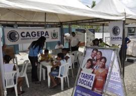 Esstande da Cagepa na Ação Comunitária 270x192 - Governo do Estado intensifica atividades em defesa do uso racional da água