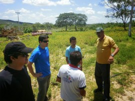 FOTOS professores mina santa luzia 1 270x202 - Professores do curso de Mineração visitam mina escola em Santa Luzia