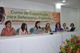 Foto 2 270x179 - Defensores discutem atendimento às mulheres vítimas de violência em Curso de Capacitação