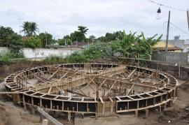 Visita de Deusdeste Construção de reservatório em Mamanguape Foto Waldeir Cabral 270x179 - Governo investe R$ 30 milhões na ampliação do sistema de abastecimento de água