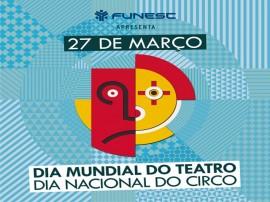 logo dia mundial do teatro 270x202 - Dia Mundial do Teatro e Nacional do Circo é comemorado em dez cidades