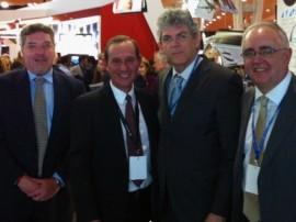 ricardo portugal embratur pbtur destino paraiba 270x202 - Ricardo se reúne com vice-presidente da TAP na Bolsa de Turismo em Lisboa
