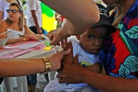 FOTO Ricardo Puppe Abertura Vacinacao 2 270x180 - Dia D da Vacinação contra a gripe em Cabedelo neste Sábado