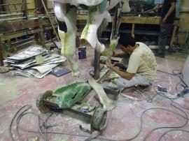 escultura de artesao paraibano sao destaque em novelas da globo 3 270x202 - Esculturas de artesão paraibano são destaque em novelas da Rede Globo