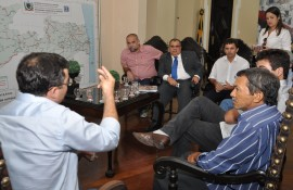 romulo recebe comissao da unesco foto joao francisco 4 270x175 - Rômulo Gouveia recebe representantes das escolas associadas da Unesco