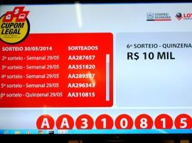 Foto sorteio Cupom Legal de R 10 mil 30 de maio 270x202 - Cupom Legal entrega 16 prêmios e divulga ganhadores do sorteio semanal