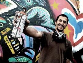 Ricardo Tatoo 270x205 - Grafiteiro Ricardo Tatoo integra Festival de Artes de Areia